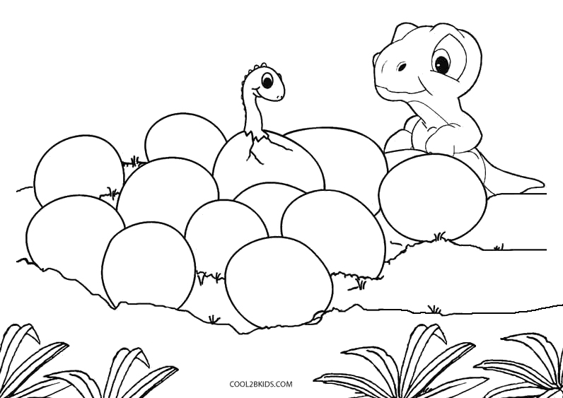 kids coloring pages dinosaurs - photo#38