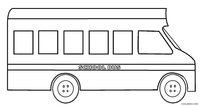 photo relating to Bus Printable titled Printable Higher education Bus Coloring Website page For Young children Amazing2bKids