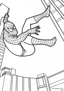 Coloring Pages of Spiderman