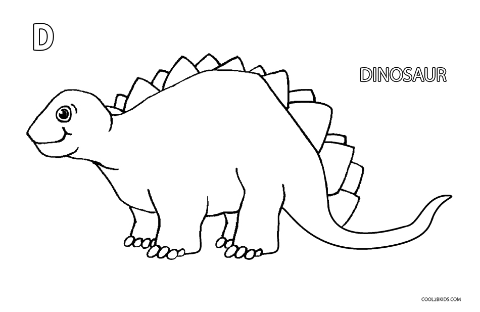 Printable Dinosaur Coloring Pages For Kids | Cool2bKids