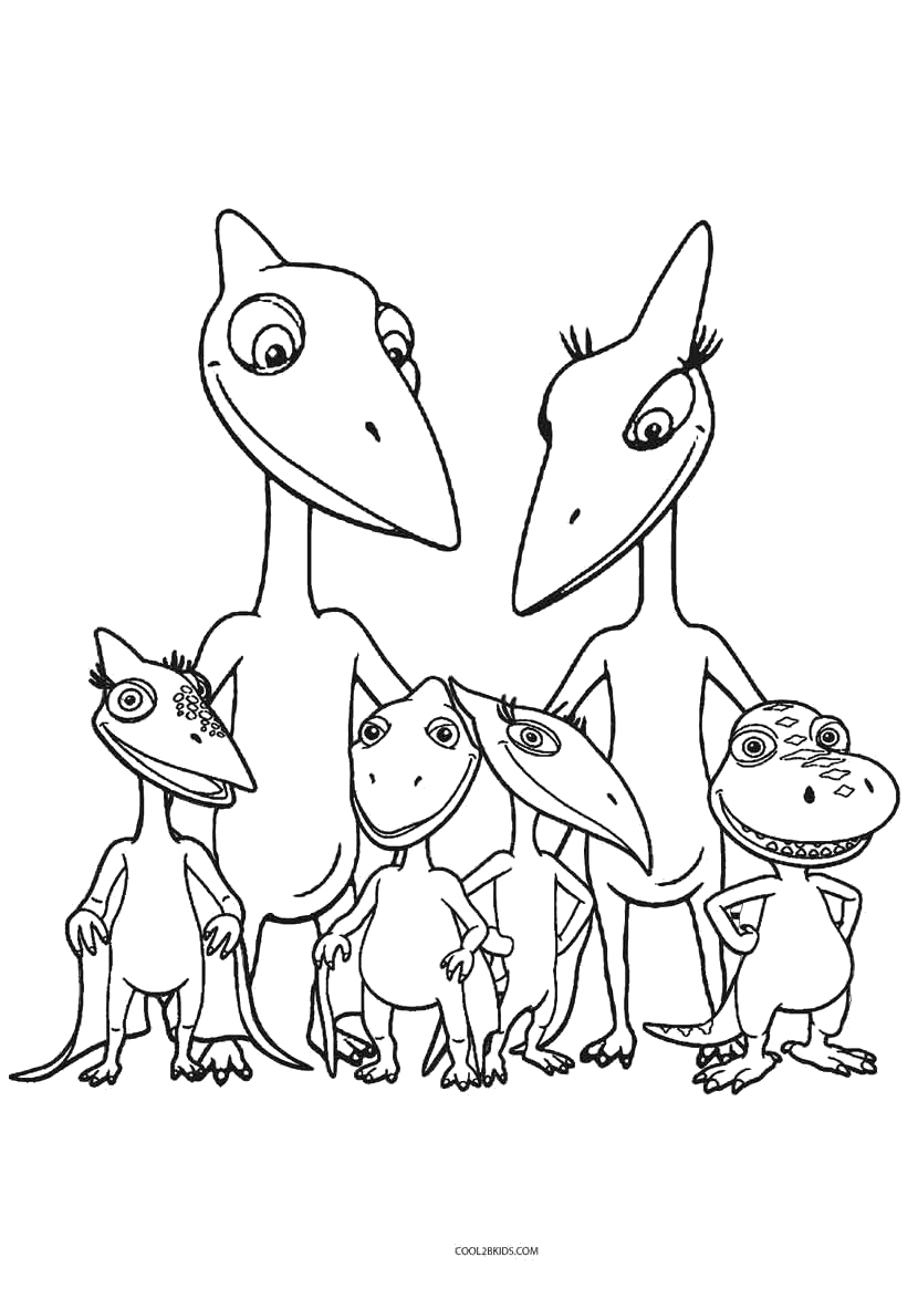 dinosaur train coloring pages - Coloring Pages Of Dinosaurs