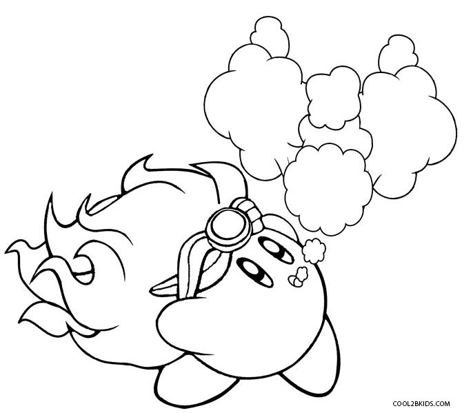 Printable Kirby Coloring Pages For Kids