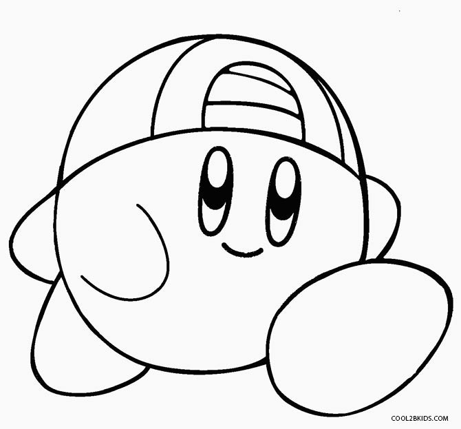 Free Coloring Pages Of O Kirby