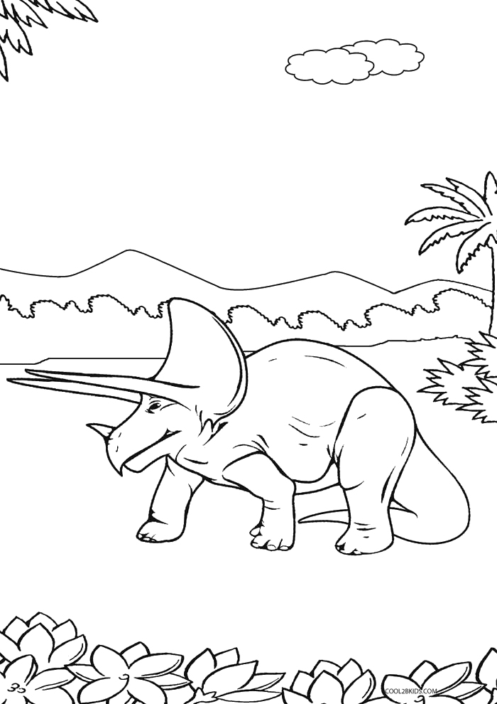 free printable dinosaur coloring pages - Baby Dinosaur Coloring Pages