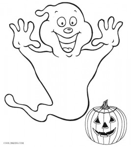 Halloween Funny Coloring Pages