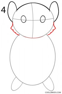 How to Draw a Hamster Step 4