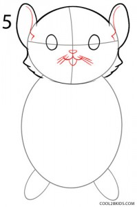 How to Draw a Hamster Step 5