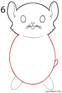 How to Draw a Hamster Step 6