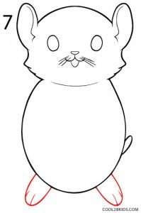 How to Draw a Hamster Step 7