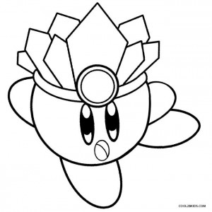 Ice Kirby Coloring Pages