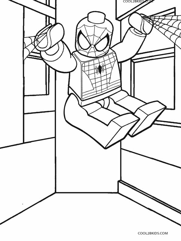 image about Spiderman Printable Coloring Pages called Printable Spiderman Coloring Web pages For Children Great2bKids