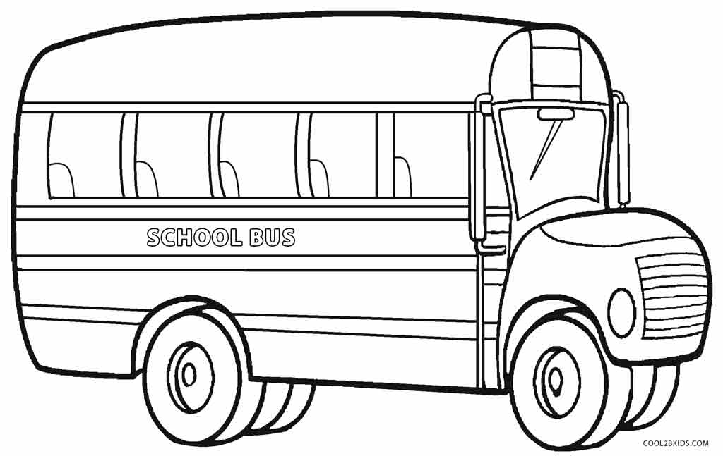coloring pages bus - photo#1
