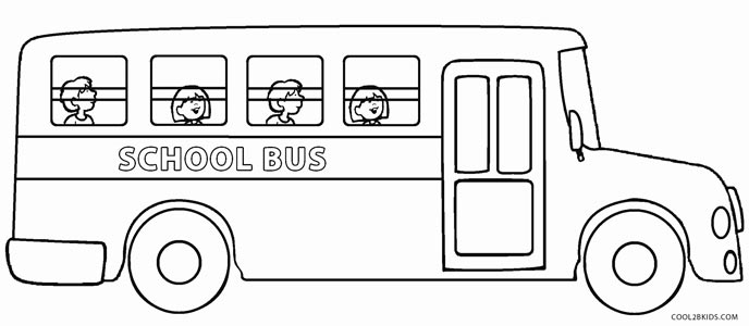 coloring pages bus - photo#19
