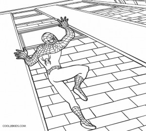 Spiderman Coloring Pages Online