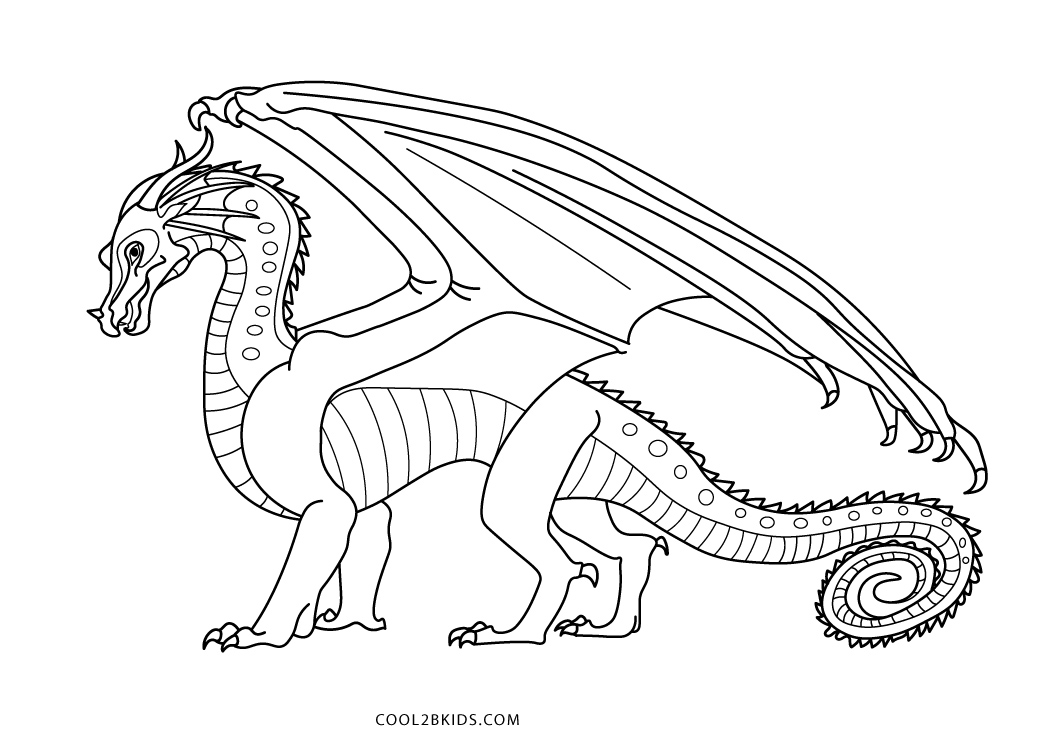 Printable Dragon Coloring Pages For Kids | Cool2bKids