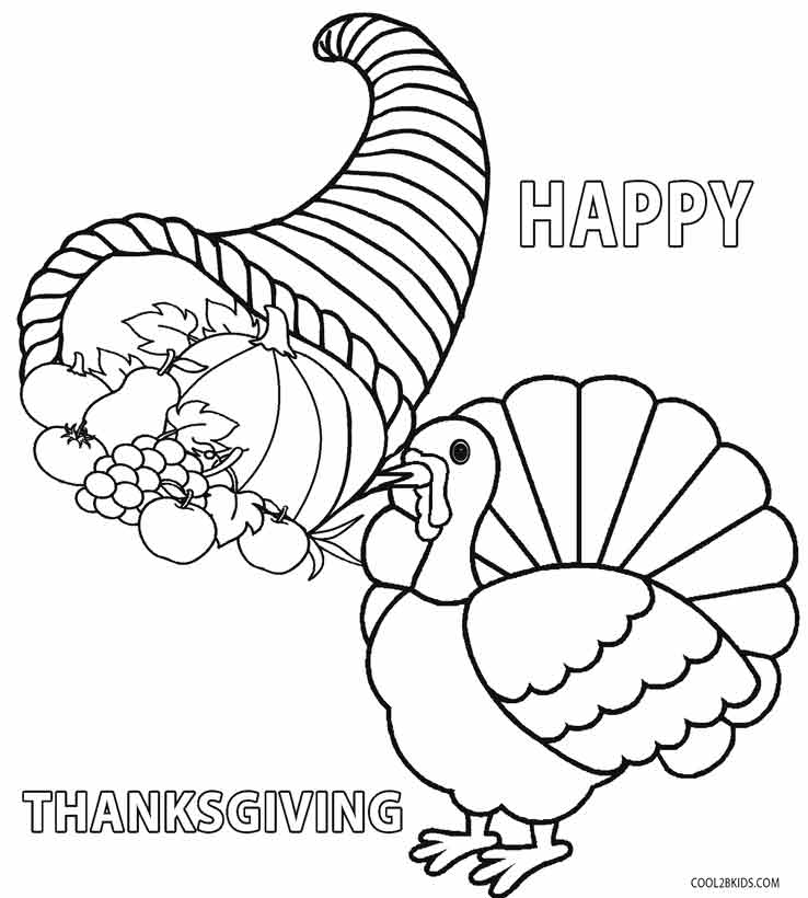 thanksgiving coloring pages for preschool - photo#29
