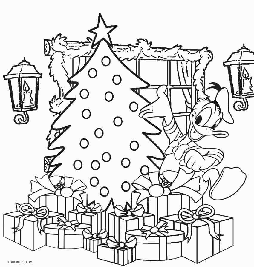 coloring pages christams - photo#20