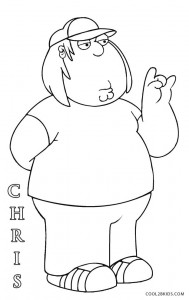 Printable Family Guy Coloring Pages For Kids Cool2bkids
