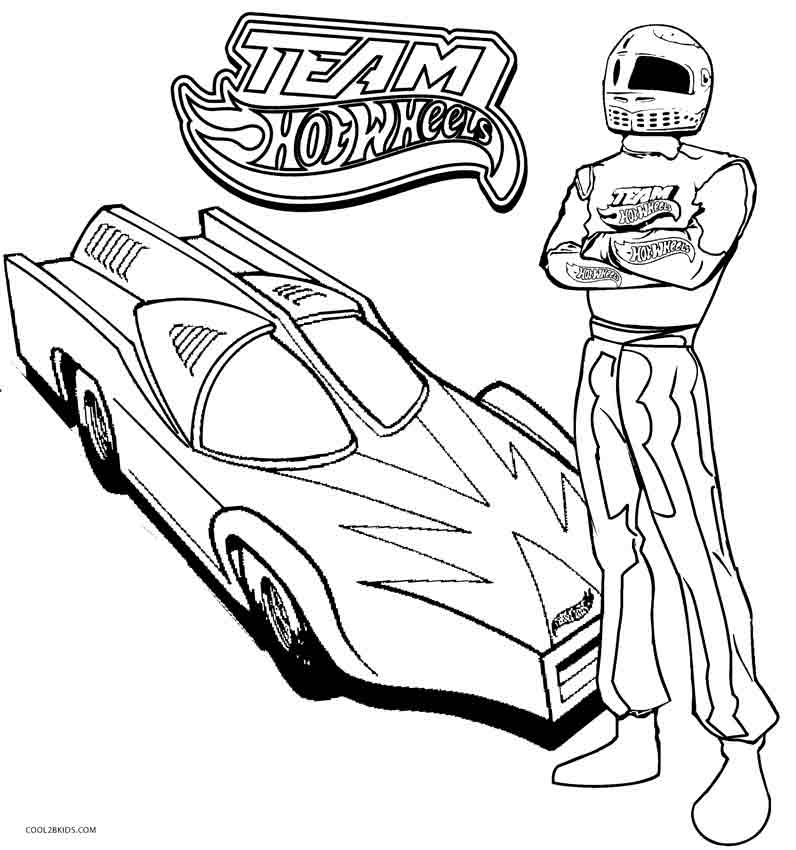 free printable hot wheels coloring pages - Coloring Page Printable