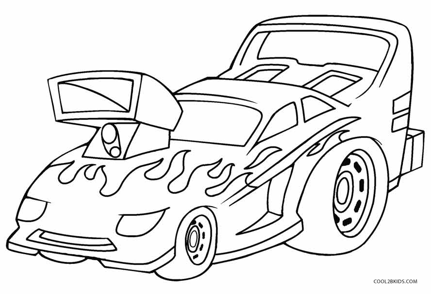 hot wheel coloring pages - photo#12