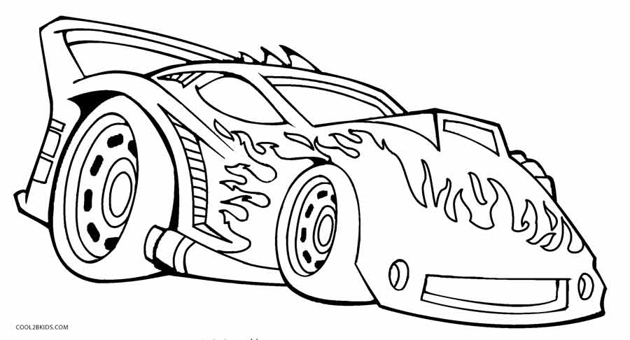 hot wheel coloring pages - photo#15