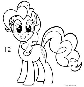 How to Draw Pinkie Pie Step 12