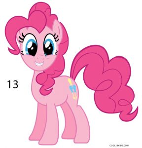 How to Draw Pinkie Pie Step 13
