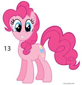 How to Draw Pinkie Pie Step 13
