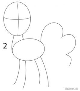 How to Draw Pinkie Pie Step 2