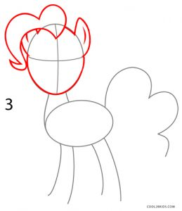 How to Draw Pinkie Pie Step 3