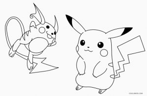 Pikachu Coloring Pages | Cool2bKids