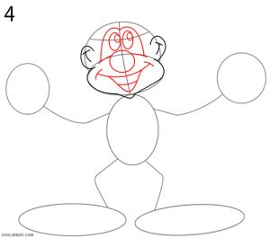 How to Draw a Clown Step 4