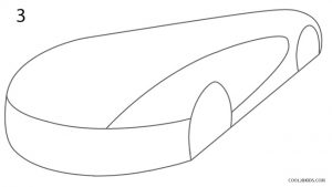 How to Draw a Bugatti Step 3