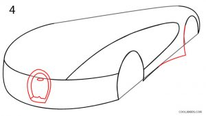 How to Draw a Bugatti Step 4
