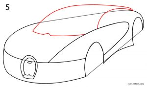 How to Draw a Bugatti Step 5