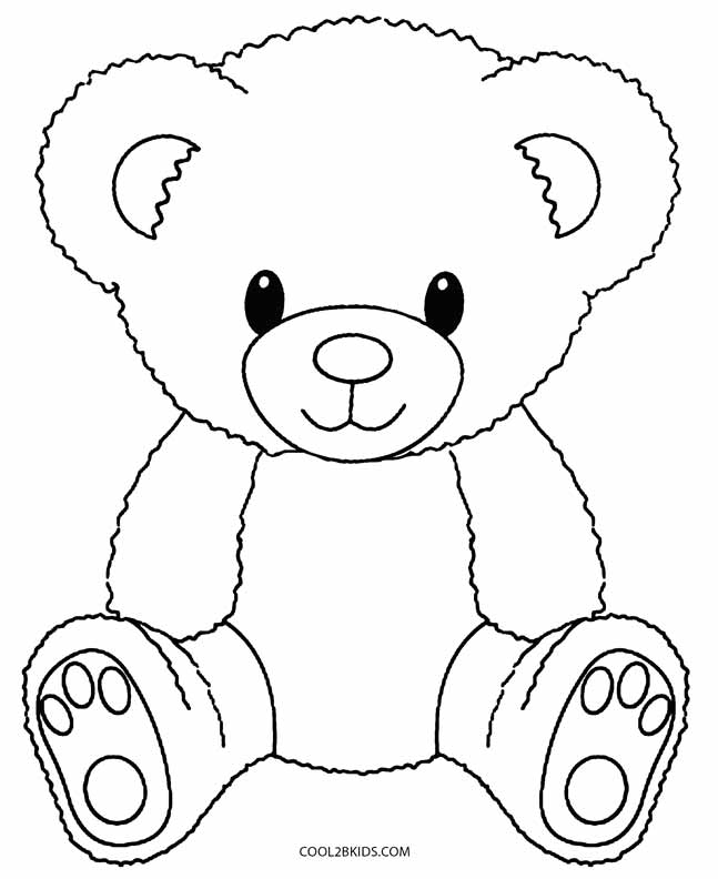 free coloring pages little bear - photo#10