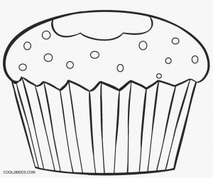 Free Cupcake Coloring Pages