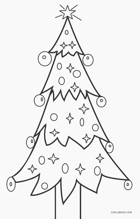 Dramatic image throughout christmas tree printable