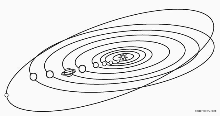 Printable Solar System Coloring Pages For Kids | Cool2bKids