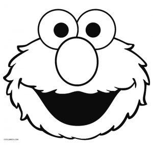 Elmo coloring pages birthday balloon ~ Printable Elmo Coloring Pages For Kids | Cool2bKids