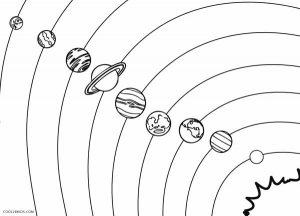 Solar System Color Pages