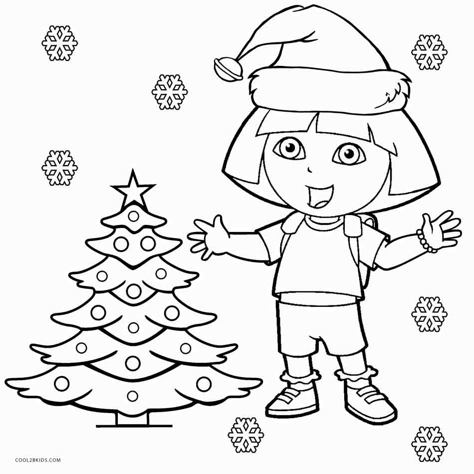 It is a graphic of Ridiculous Dora Coloring Pages Printable