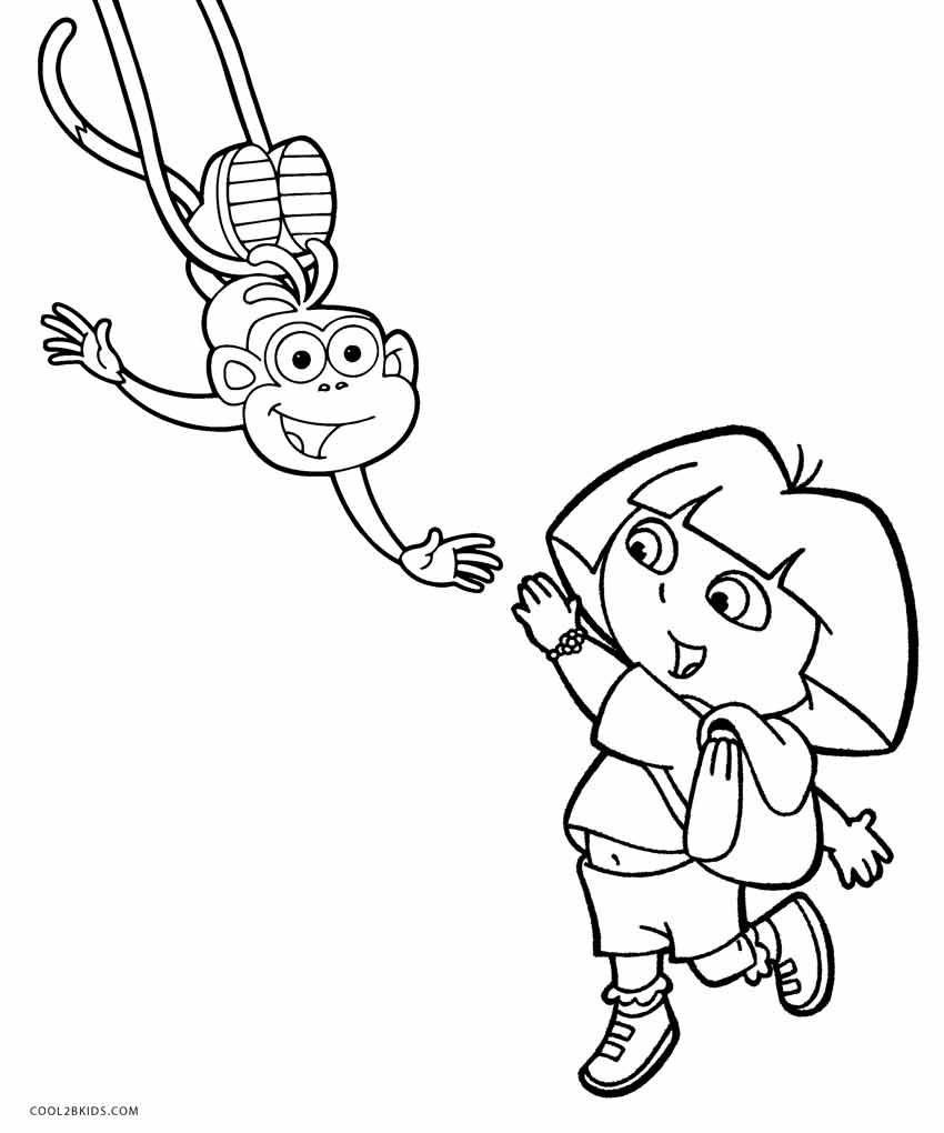 dora easter coloring pages - photo#29