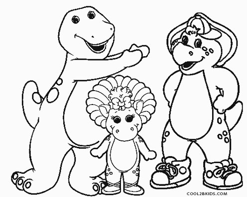 Free Printable Barney Coloring Pages For Kids Cool2bkids Barney And Friends Coloring Pages