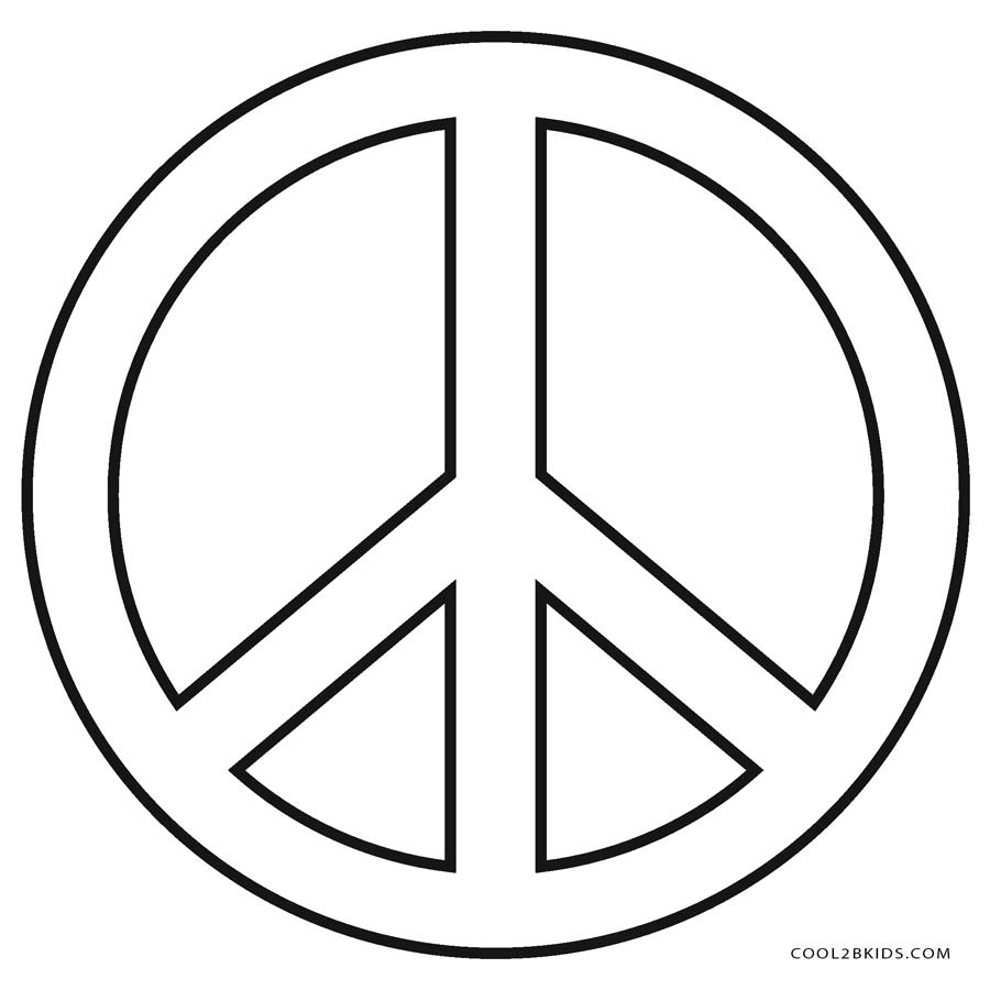 Peace coloring pages to download and print for free - Coloring Pages | 900x900
