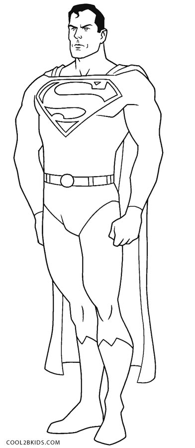 Free Printable Superman Coloring Pages For Kids Cool2bKids