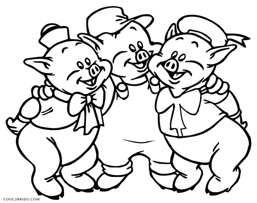 coloring pages of pigs and piglets | Free Printable Pig Coloring Pages For Kids | Cool2bKids