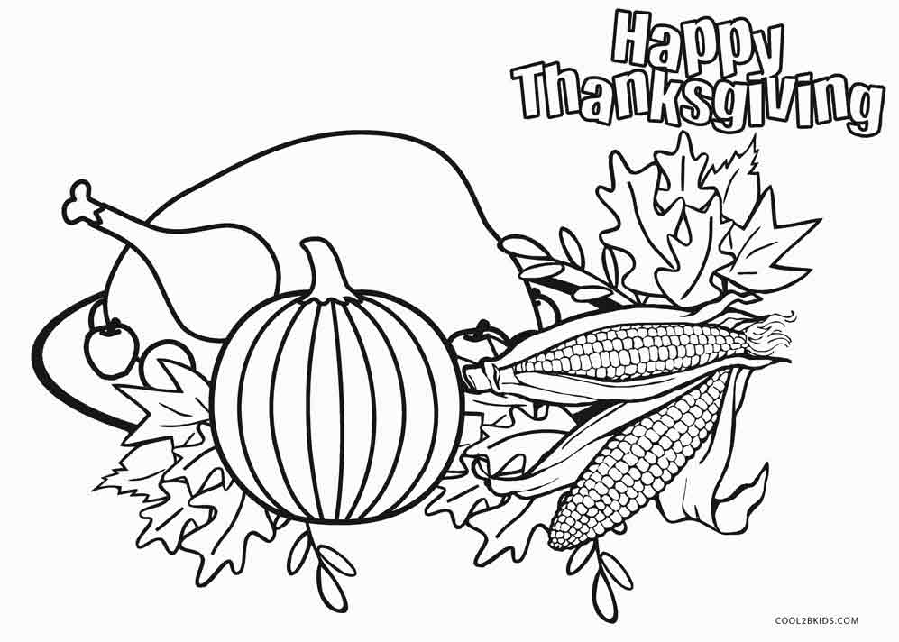 Free Printable Food Coloring Pages
