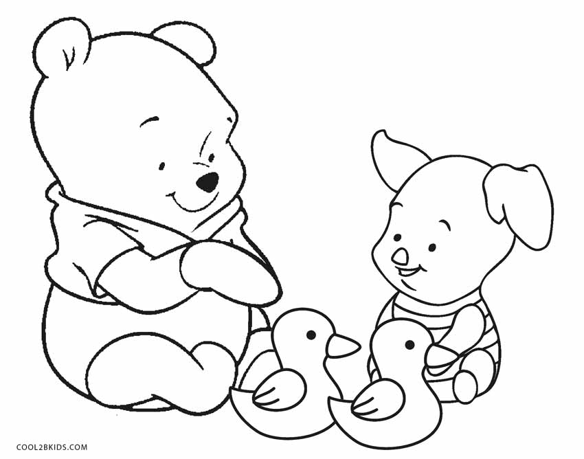 printable winnie pooh coloring pages - photo#18