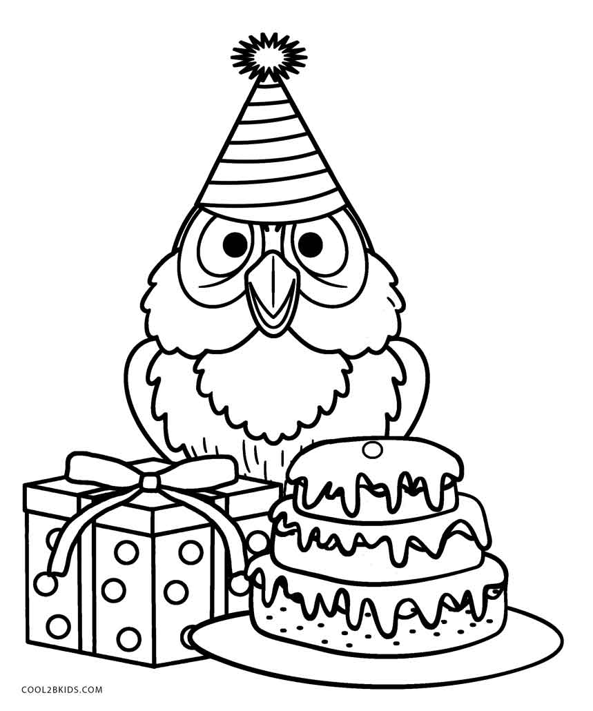 Free Printable Owl Coloring Pages